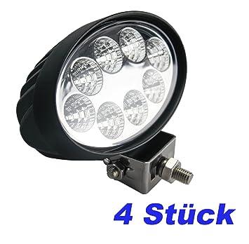 brightum 24 W Foco LED de trabajo weiß12 V 24 V reflector Work Light Faro Luz