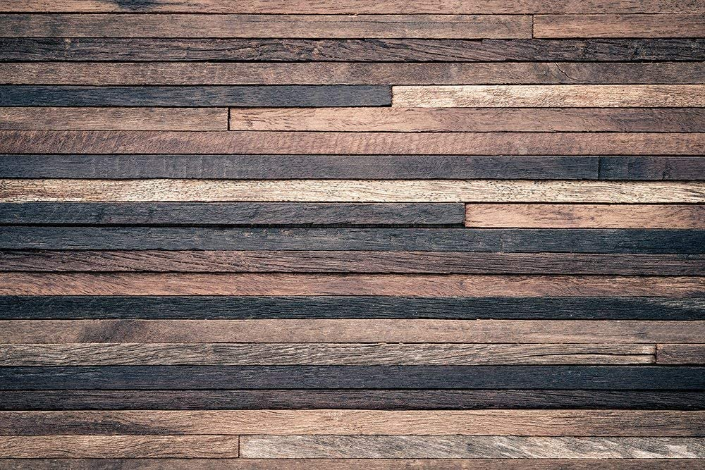 Wooden Wall Living Room Photography Background Computer-Printed Vinyl Backdrops 75ft