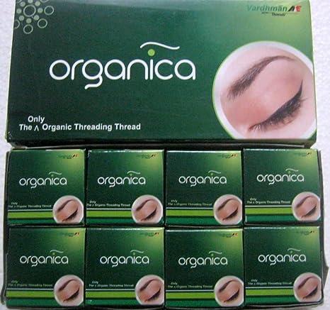 40 Spool x 300m Organica Organic Cotton Eyebrow Threading Thread - India