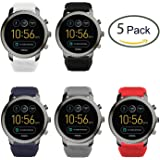 fossil herren smartwatch q explorist 3 generation edelstahl grau eindrucksvolle. Black Bedroom Furniture Sets. Home Design Ideas