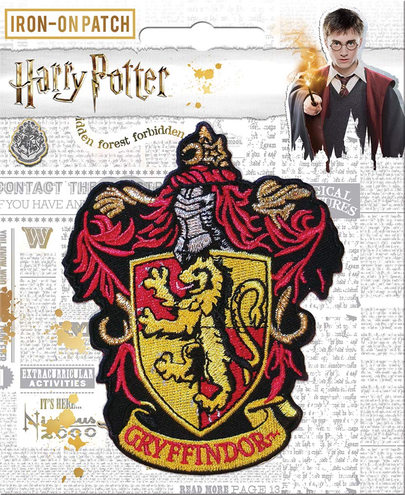 HARRY POTTER Gryffondor Iron Patch