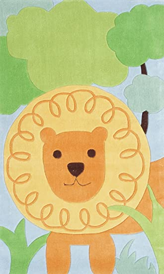 The Rug Market Lion Themed Childrenu0027s Area Rug