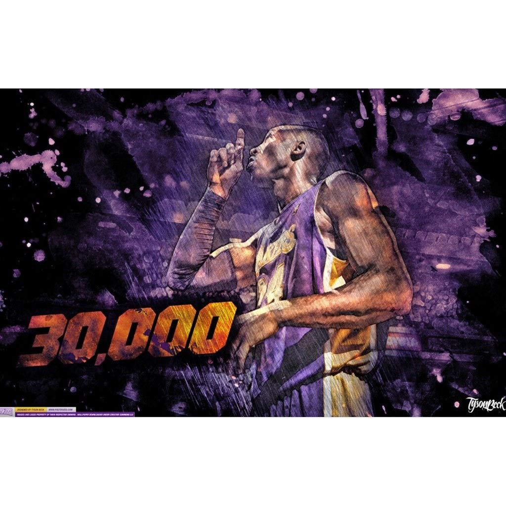 E 1000pc WYF's Puzzle Puzzle di Legno NBA Kobe Bryant  500,1000,1500 Pezzi P726 (Coloree   E, Dimensione   1500pc)