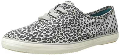 843d165b4c2b7 Image Unavailable. Image not available for. Color  Keds Womens Champion  Leopard Heart ...