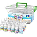 Desire Deluxe Tie Dye Kit – Set of 18 Colours Ink Tie-Dye Kits for Dyeing Fabric, Clothes – Creative Art Craft Games Activity