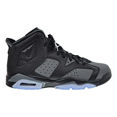 edfaf4d04310 Air Jordan 6 Retro BG Big Kid s Shoes Black White Cool Grey 384665-