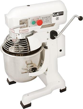 KuKoo Robot Batidora 550W Amasadora Repostería Profesional Robot de Cocina Automática Multifuncional Planetaria Industrial 10 Litros Raspador de acero GRATUITO: Amazon.es: Electrónica