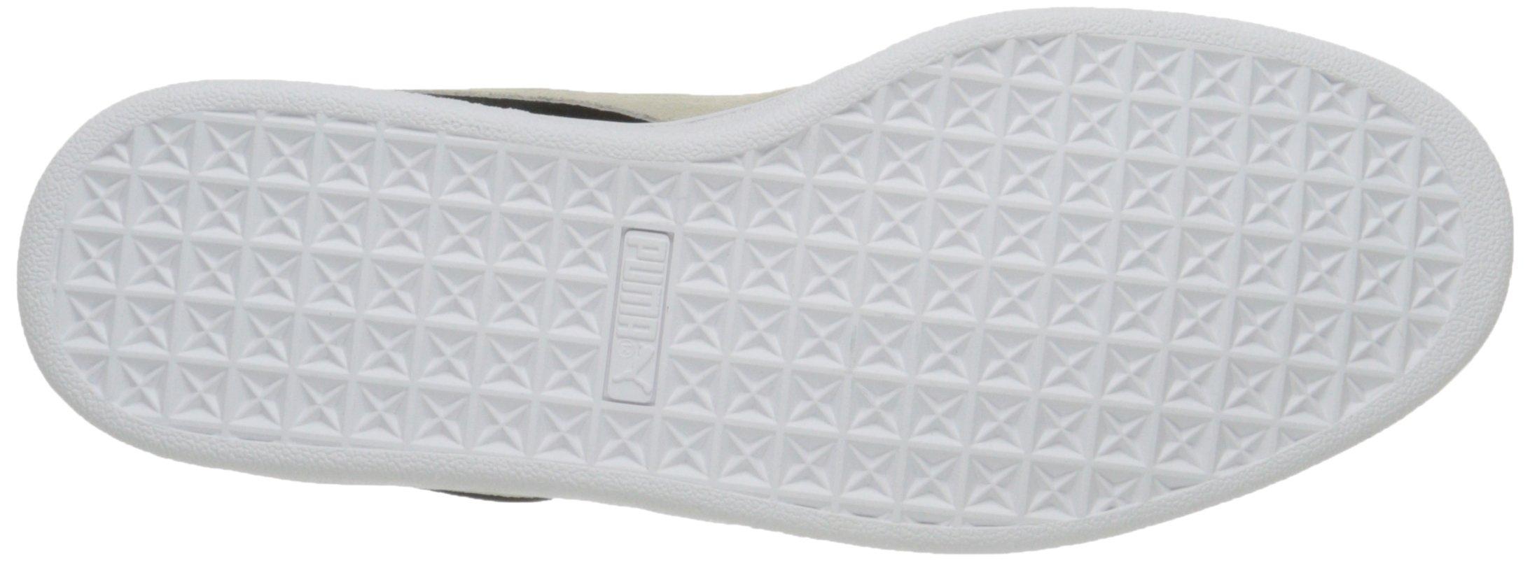 PUMA Suede Classic Sneaker,Black/White,9.5 M US Men's by PUMA (Image #10)