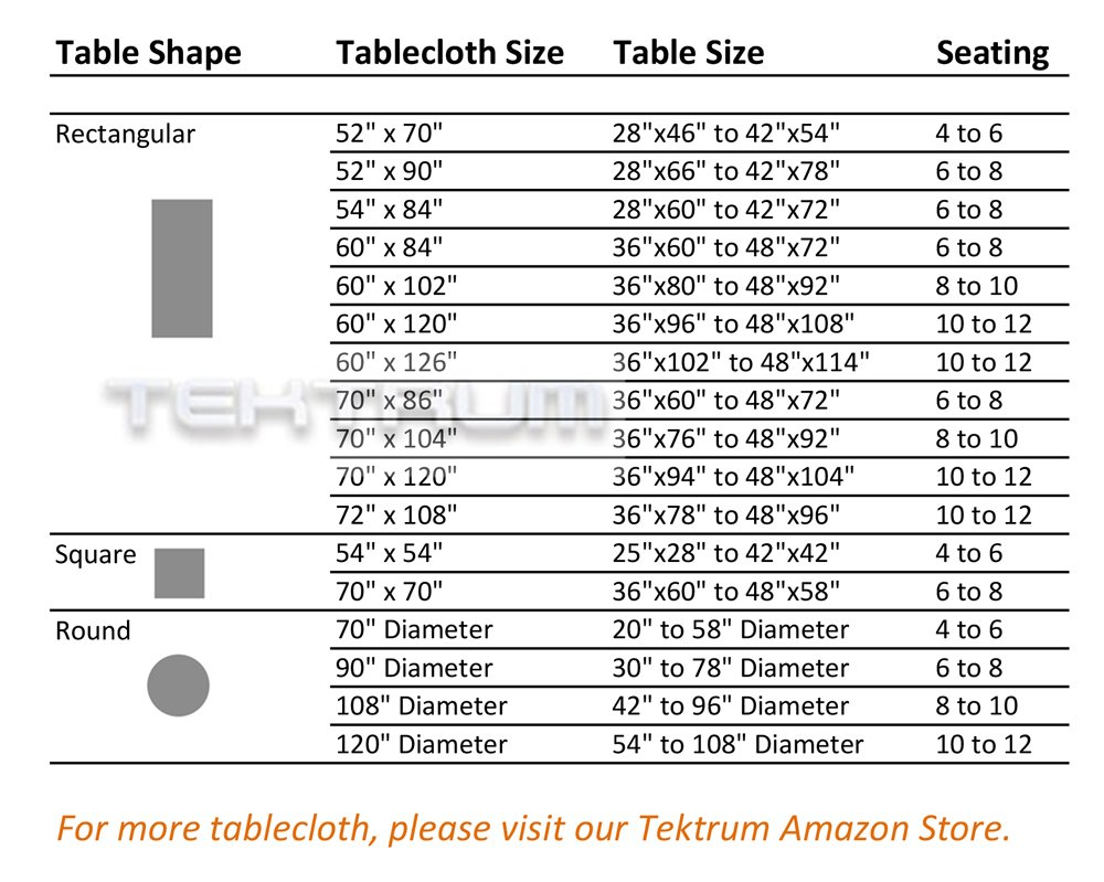 """TEKTRUM 90 INCH ROUND POLYESTER TABLECLOTH - THICK/HEAVY DUTY/DURABLE FABRIC (Burgundy) - Fold over hemmed edges; instant setup - no clips or fasteners needed Tablecloth size 90"""" diameter; seamless one-piece design Made of premium quality polyester fabric - extra durable - tablecloths, kitchen-dining-room-table-linens, kitchen-dining-room - 71rm1%2Bu%2BI5L -"""