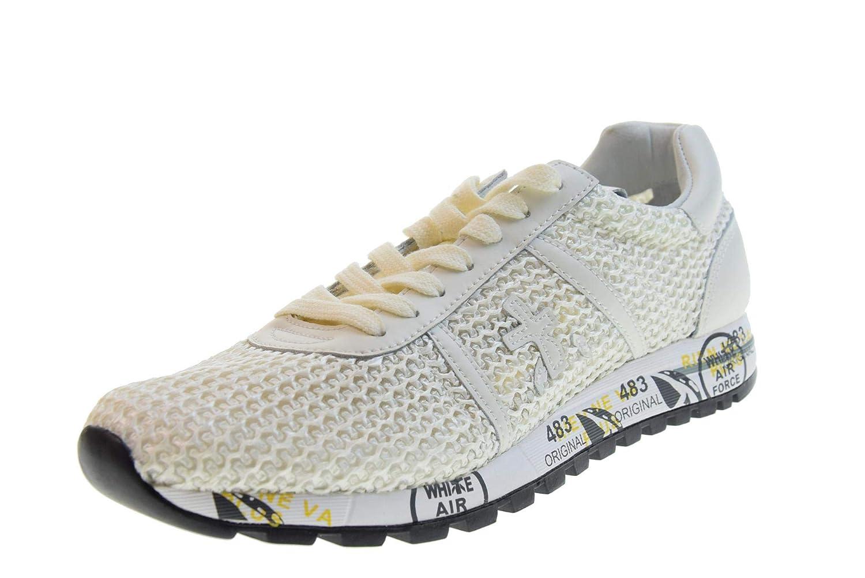 Blanc PREMIATA Chaussures Femme paniers Lucy-D 3666