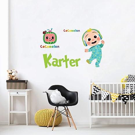 Baby Boy Nursery Wall Decal Custom Name /& Sizes