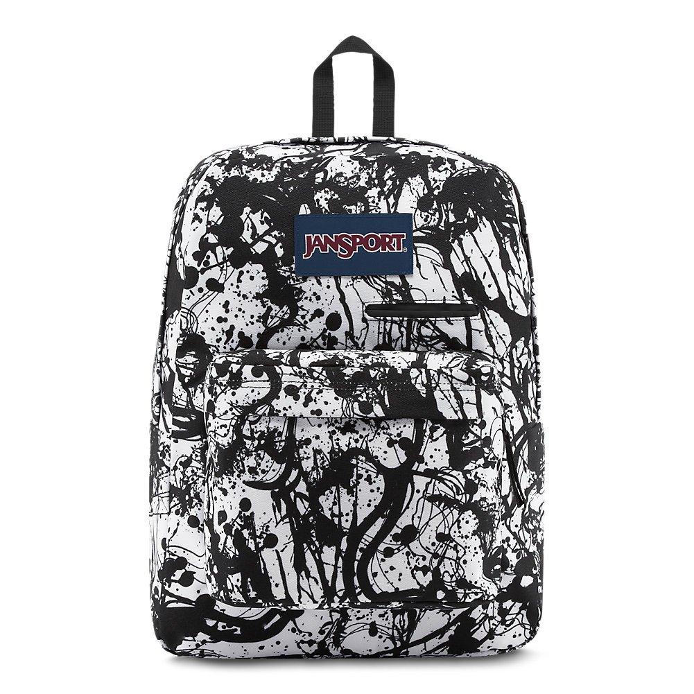 498743f90870 Galleon - Jansport Digibreak Laptop Backpack - Black Paintball