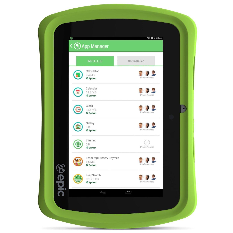 LeapFrog Epic - Tableta para niños con Android (17 cm ...