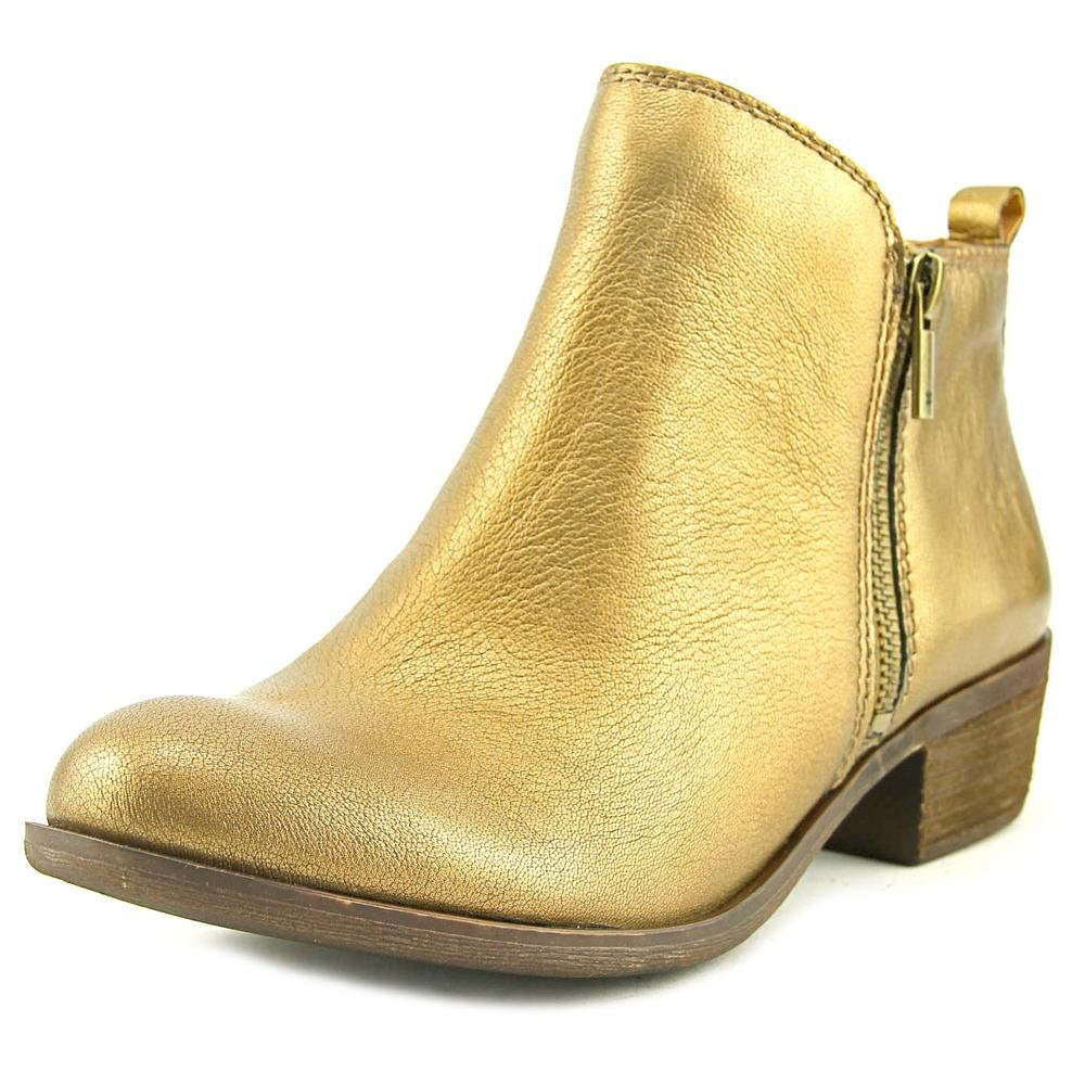Old Bronze Lucky Brand Women's Basel Ankle Boot