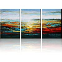 Asmork Canvas Oil Paintings Set of 3