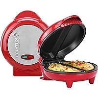 Omelet Maker, Stainless Steel (Red)