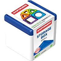 Magformers Small Blue Storage Box, Building STEM Toy Set Ages 3+