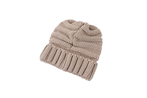 669212350 Doubleal Baby Girls Boy Beanie Skull Slouchy Caps Warm Crochet Winter  Ribbed Knit Hat