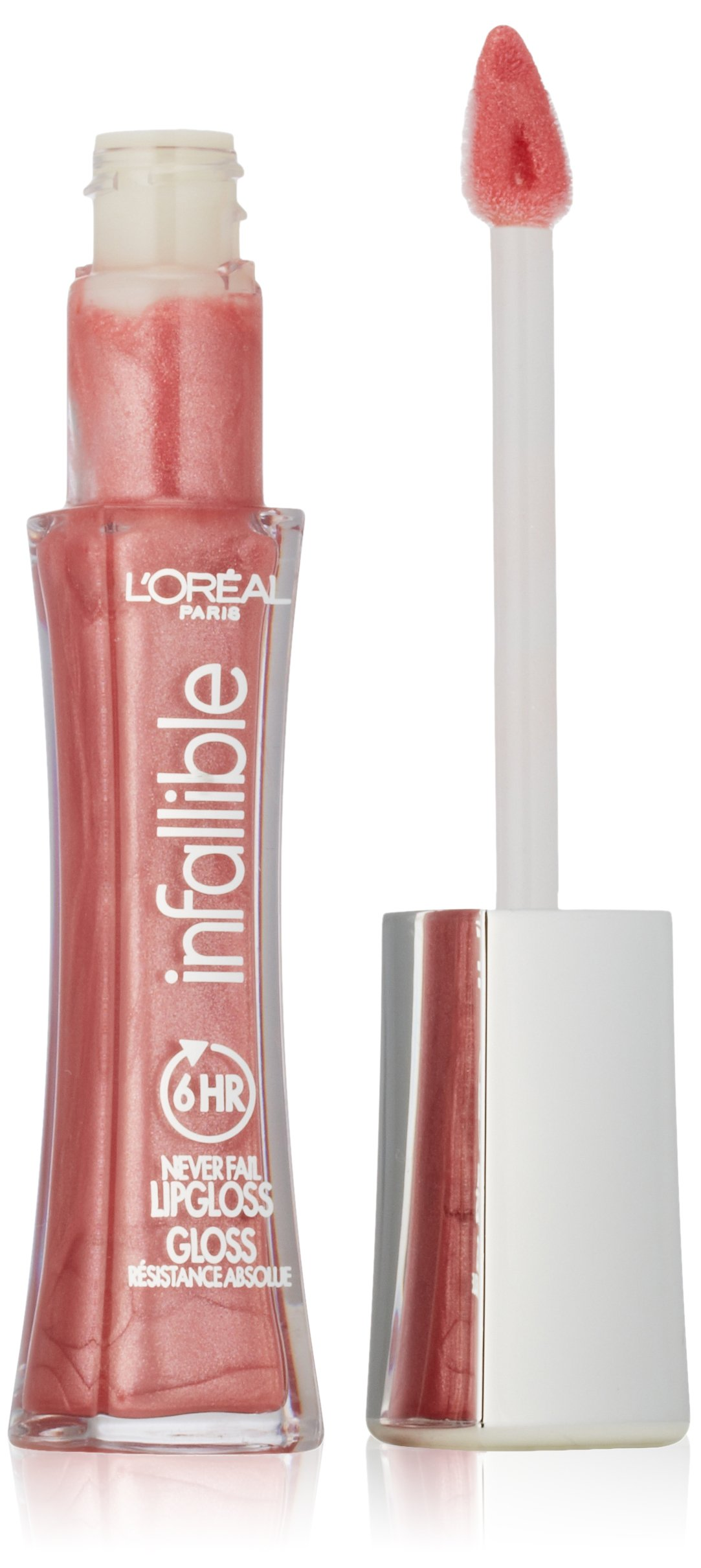 L'Oréal Paris Infallible 8 HR Pro Gloss, Blush, 0.21 fl. oz.
