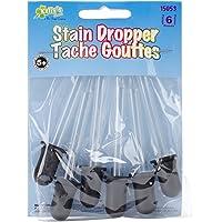 New Image Group 15053 Kelly's Crafts: Conta-gotas de manchas de vidro, pacote com 6