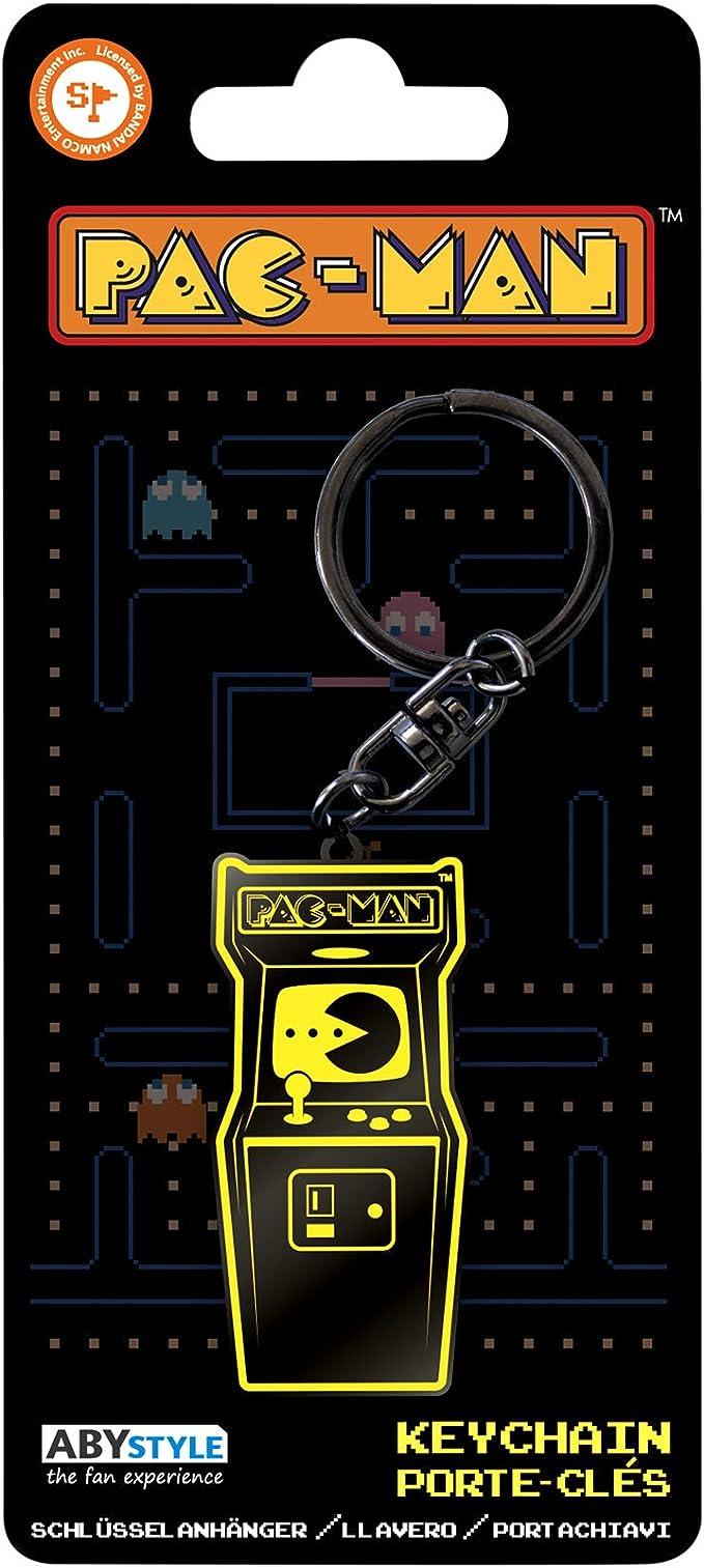 Amazon.com: Pac-Man - Arcade Metal Keyring: Toys & Games