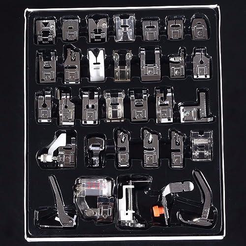 Baban - Coffret de pieds pour machine à coudre - 32 pièces