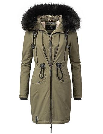 Navahoo Damen Winter Mantel Winterparka Leola (vegan hergestellt) 5 Farben  XS-XXL  Amazon.de  Bekleidung 9a8bef0f6d