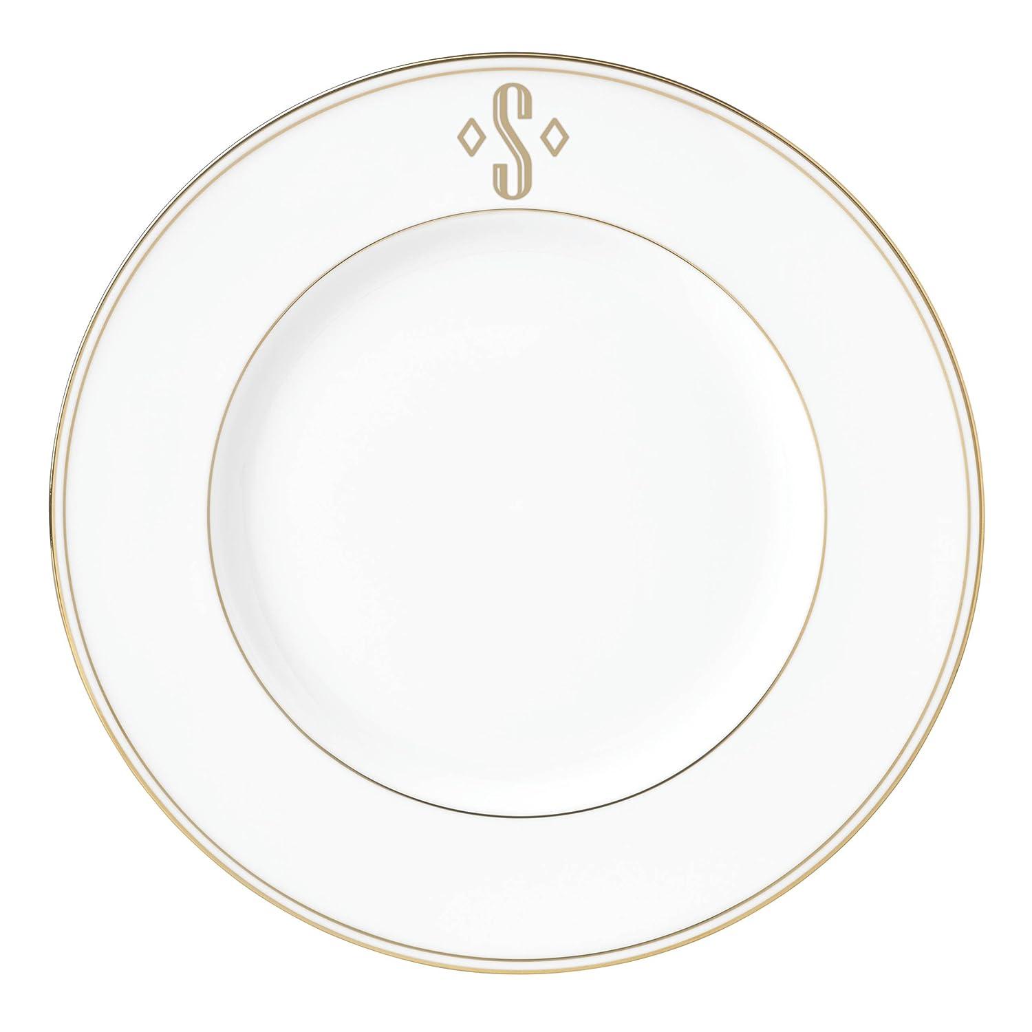 Lenox Federal Gold Block Monogram Dinnerware Placesetting Bowl X 873162