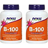 【2個セット】ビタミンB100 コンプレックス 100粒(11種類のビタミンB群をバランスよく高含有)[海外直送品]