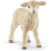 Schleich Lamb Toy Figure, White