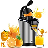 Electric Citrus Juicer Sowtech 2 in 1 Stainless Steel Squeezer Anti-drip Citrus Press for Squeeze Fresh Orange Lemon and Lime
