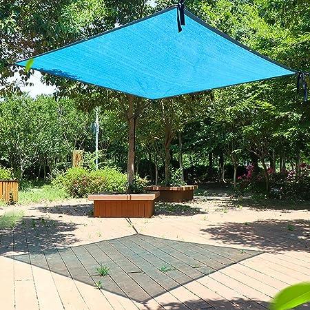 Tela de sombra Parasol De Gran Tamaño/Tela De Bloque De Vela 90% UV con Arandelas For Patio Pergola Garden Greenhouse, Azul (100 G/M²) (Size : 10mx10m): Amazon.es: Hogar