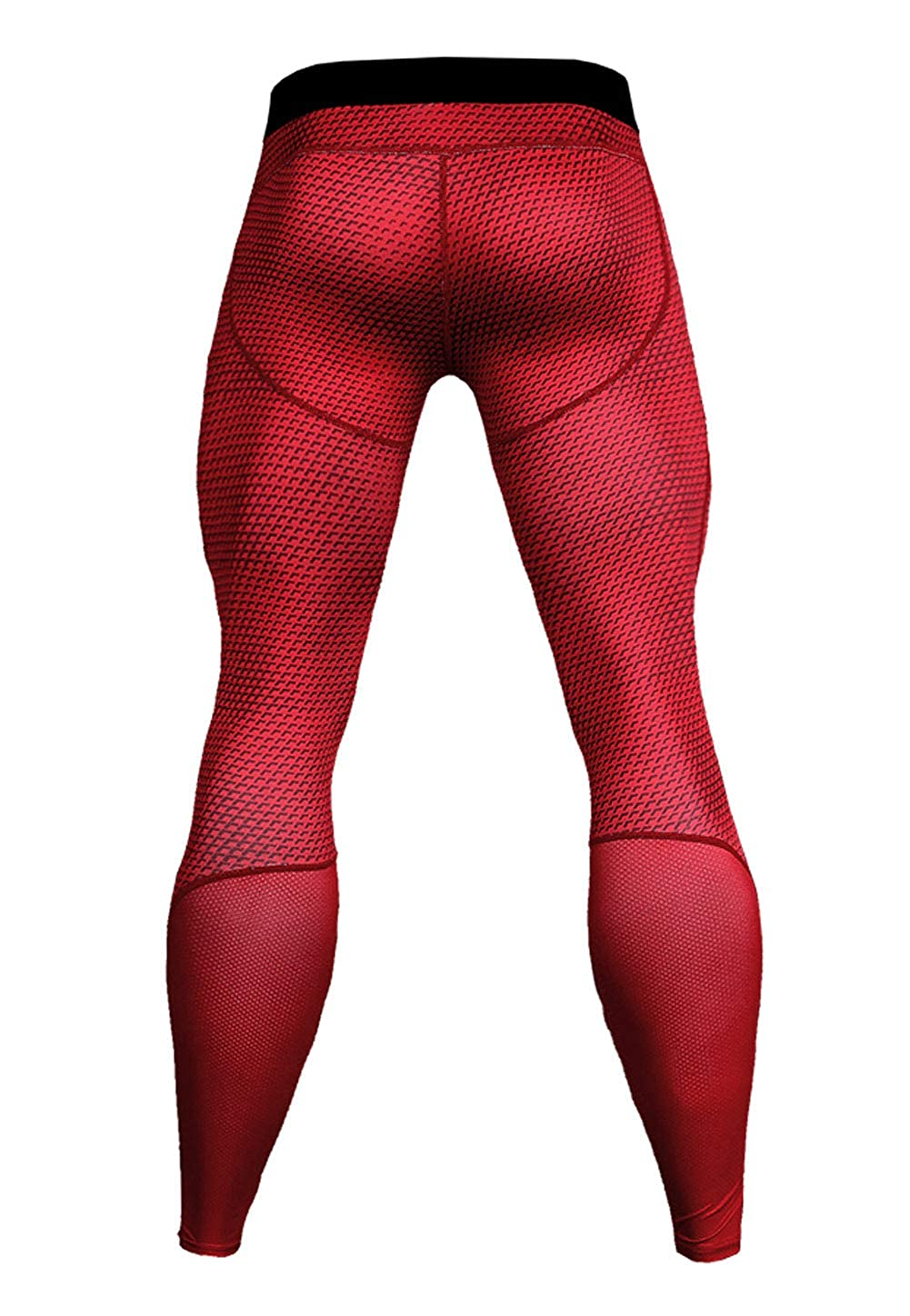 FEOYA Mens Compression Quick Dry Pants Sport Workout Baselayer Tights Legging