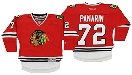 fef846a2a03 Amazon.com : NHL Little Kids Chicago Blackhawks Artemi Panarin #72 ...