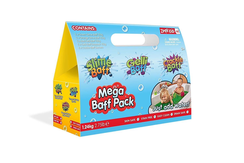 Zimplikids Mega Baff Pack - 2 x Green Slime, 2 x Orange Slime, 2 x ...