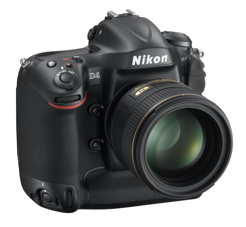 Amazon.com : Nikon D4 16.2 MP CMOS FX Digital SLR with Full 1080p ...
