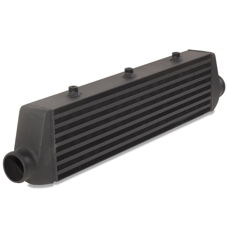 Black 57mm Aluminium Alloy Front Mount Intercooler FMIC Core Jap Parts