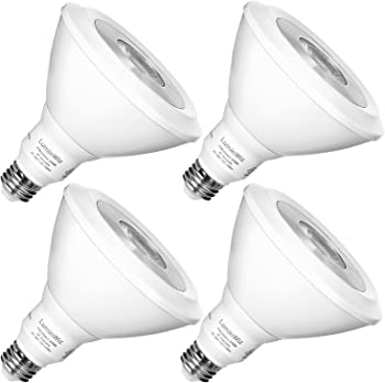 4-Pk.Luminwiz PAR38 13W 2700K Dimmable LED Flood Light Bulb