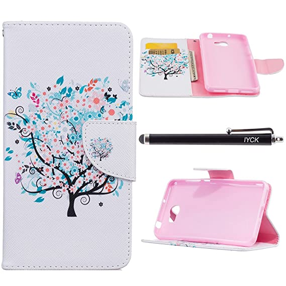 Huawei Y5 2 Case, Huawei Y5II Case, iYCK Premium PU Leather Flip Carrying  Magnetic Closure Protective Shell Wallet Case Cover for Huawei Y5 II/Y5 2