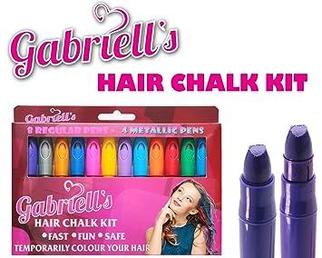 Chalk Markers for Chalkboard by VersaChalk (Reversible Tip, Neon) -  Erasable Dustless Water