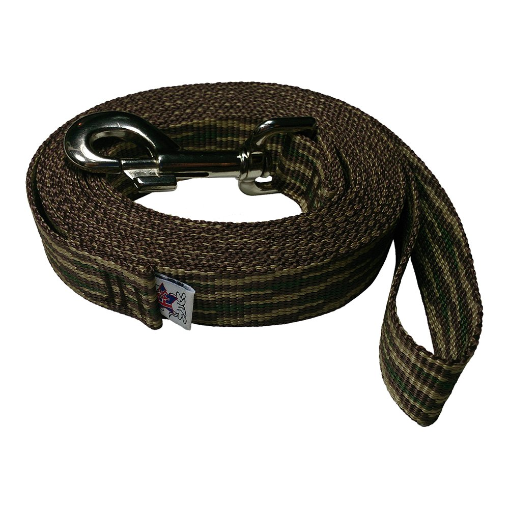 Beast-Master Freedom Pet 1 inch Polypropylene Dog Leash FPS-PP50 Select Your Length and Color (Woodland Camouflage, 50 FT)