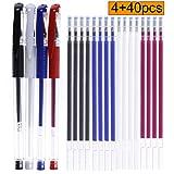 4 Pieces Heat Erase Pens with 40 Heat Erasable