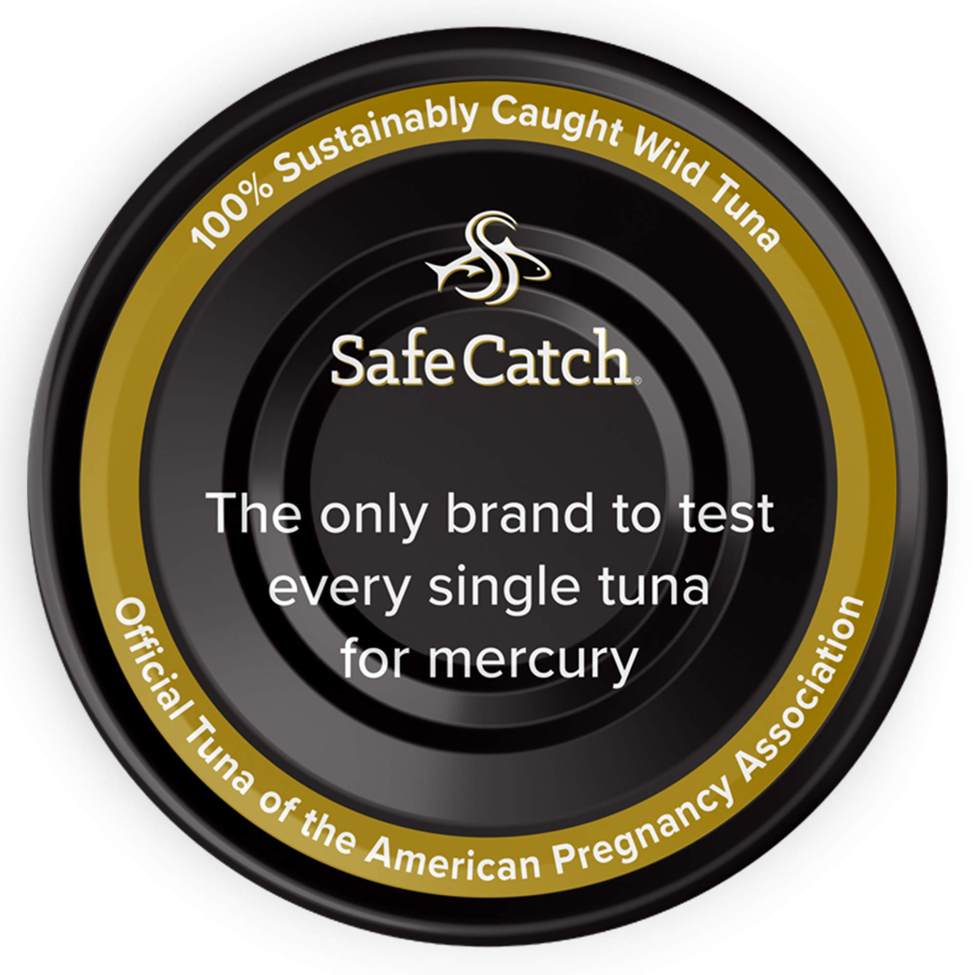 Safe Catch Ahi, Lowest Mercury Solid Wild Yellowfin Tuna Steak, 5 oz Can. The Only Brand to Test Every Tuna for Mercury (6 Pack in Extra Virgin Olive Oil) by Safe Catch (Image #3)