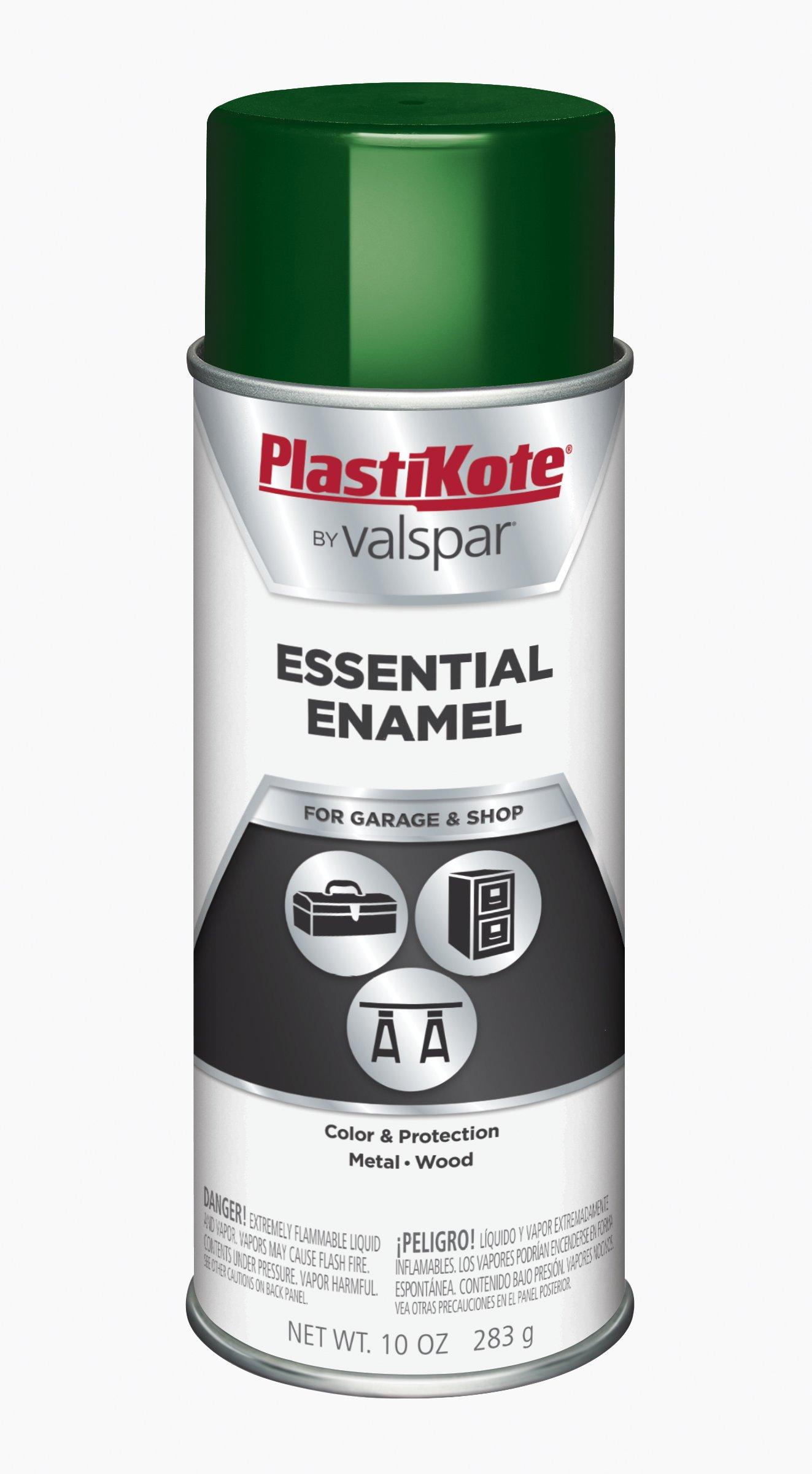 PlastiKote 2512 All Purpose Green Spray Enamel - 10 oz.