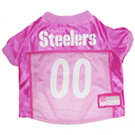 18258d9d8 Amazon.com   Pittsburgh Steelers Dog Jersey Pink