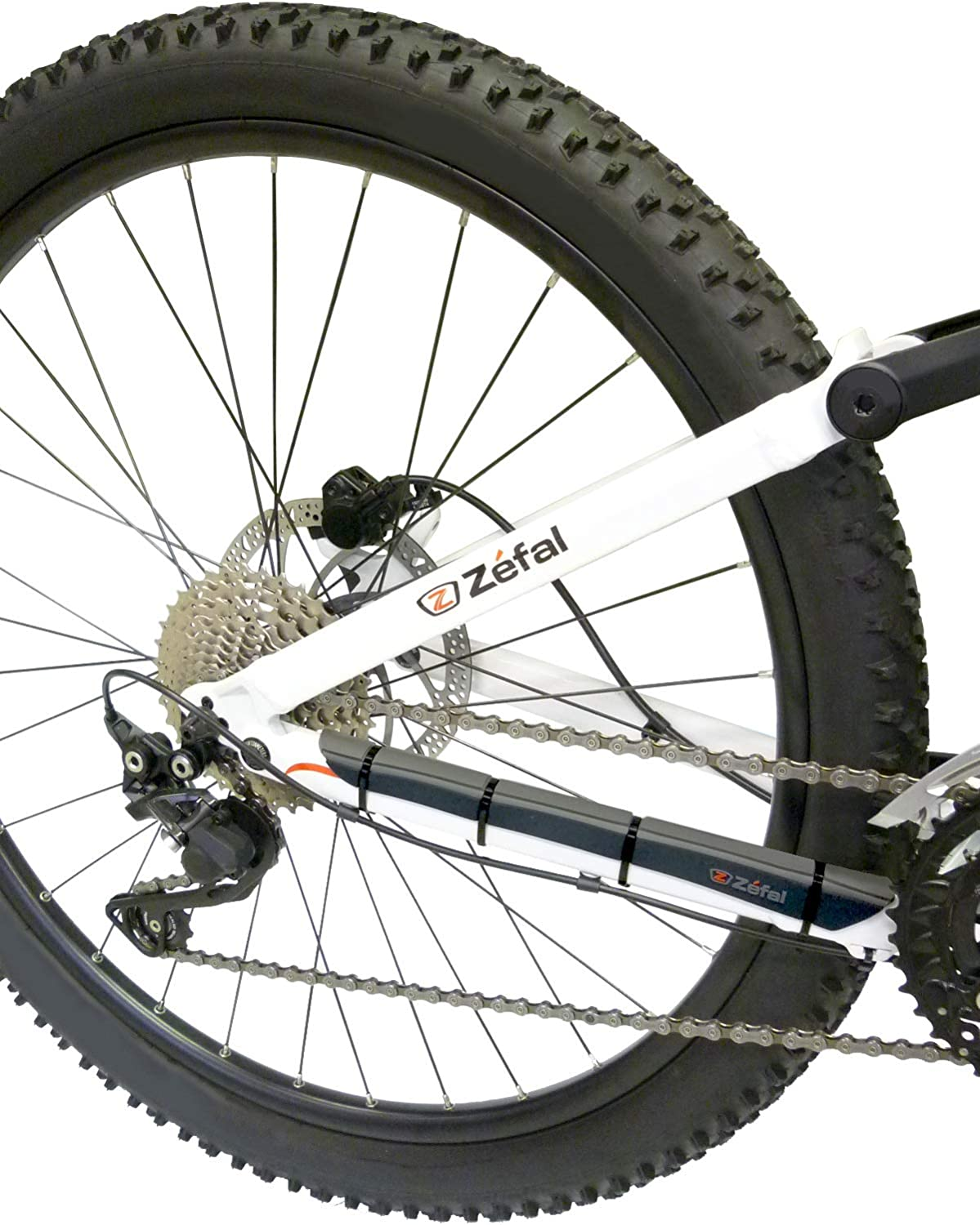 ZEFAL ARMOR BLACK CHAINSTAY FRAME PROTECTOR GUARD