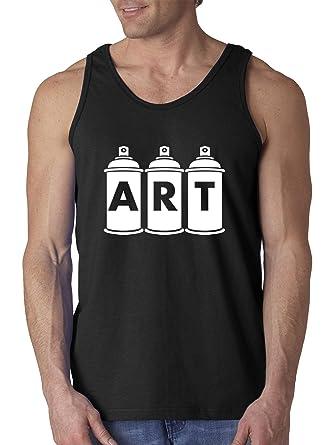 Amazon com: Trendy USA 926 - Men's Tank-Top Art Graffiti