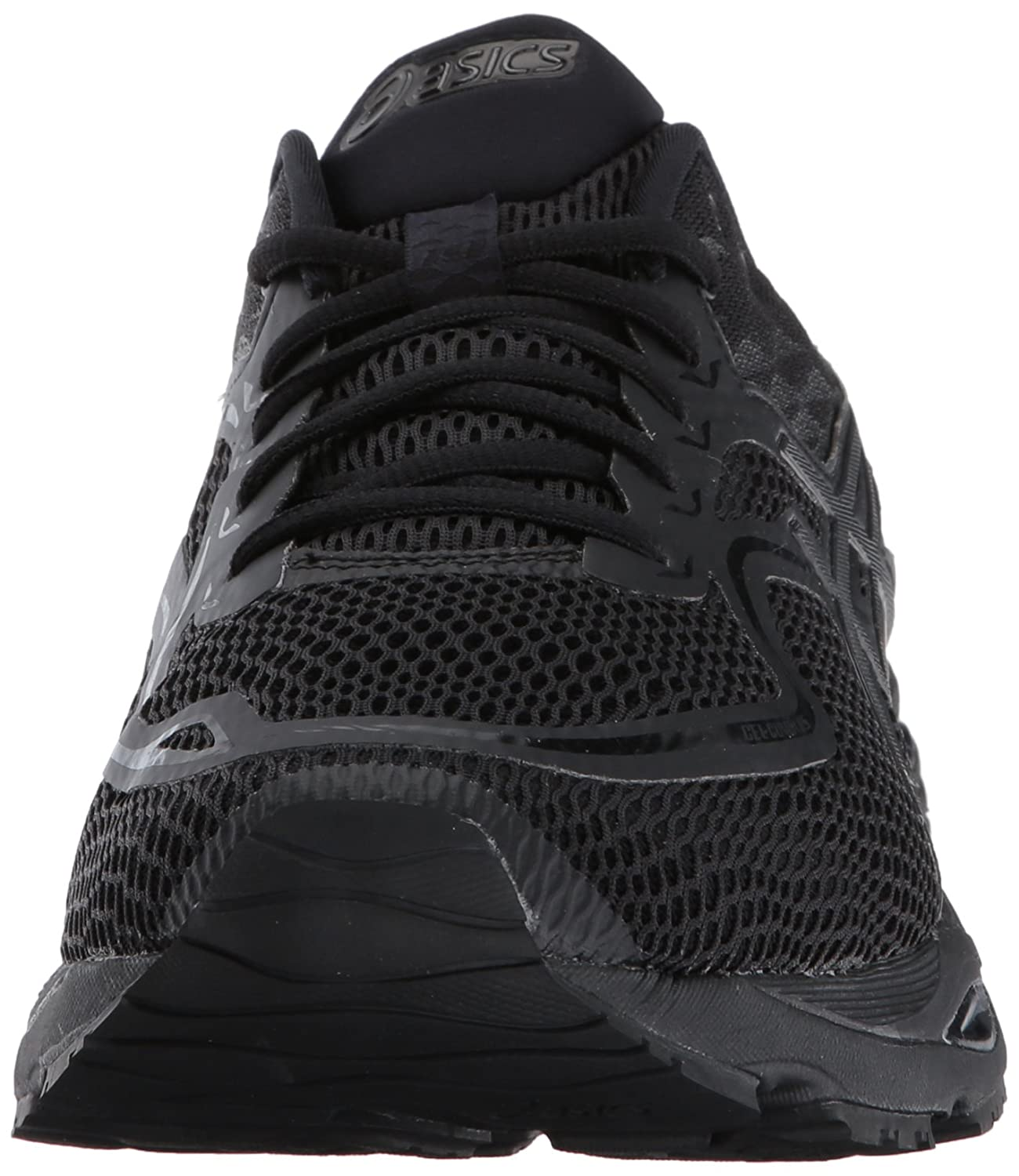 ASICS Men's Gel-Cumulus 19 Running Shoe B01N3LRWAQ 10 D(M) US|Black/Black/Phantom
