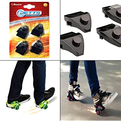 scooter 4 Ct Spark Replacement Cartridge For Razor Jetts DLX Heel Wheels Roller Skates : Sports & Outdoors