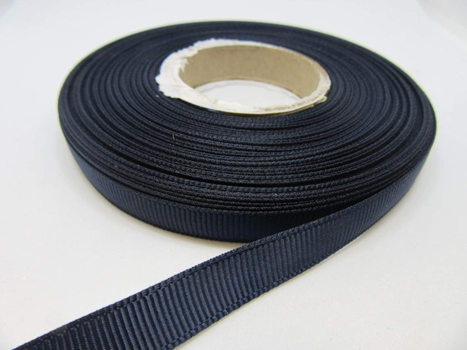 40 Metres Grosgrain Ribbon 10mm Black 40 metres